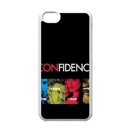 Confiance N3R17 cas de téléphone haute résolution affiche B2O1BK coque iPhone 5c cellulaire couvercle coque blanche DL0MVD2HE