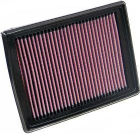 K&N ENGINEERING 33-2318 Air Filter; Panel; H-1.125 in.; L-9.438 in.; W-7.188 in.;