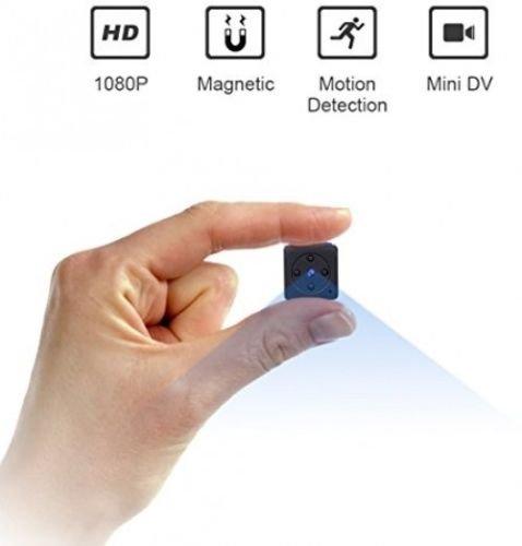Camaras Espias Ocultas Mini Vision Noche Detector Movimiento Portatil