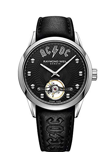 Raymond Weil Freelancer ACDC Limited Edition Automatic Black Dial Men's Watch 2780-STC-ACDC1