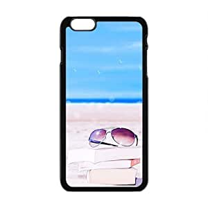 Royal Garden Beach Book And Glasses Fashion Personalized Clear Cell Phone Case For Iphone 5C Plaus