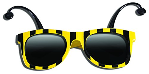 Forum Novelties 79254 Bee Glasses Party Supplies, One ()