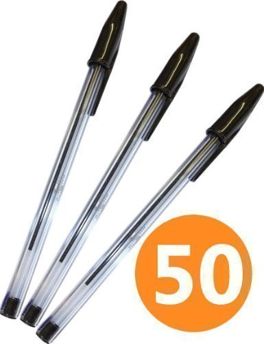 WB Ballpoint Pen Medium Red Pack 50 NEW