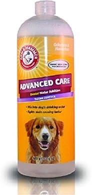 Advanced Care Detal Water Additive Tartar Control - Cuidado dental avanzado para perros, 32 FL oz