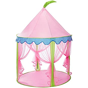 Princess Castle TentSonyabecca Tent for Girls Pop up Tent Pink  sc 1 st  Amazon.com & Amazon.com: Kids Tents Princess Crystal Castle Pop Up Tent Play ...