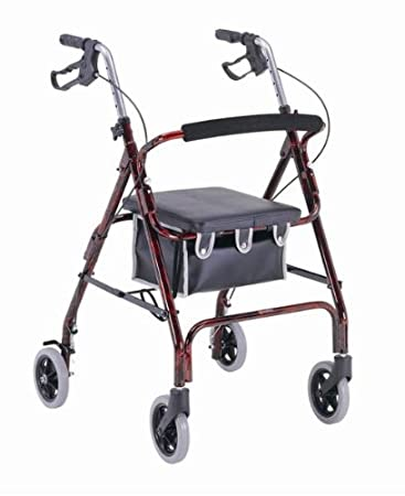 Amazon.com: Adulto Walker/Andador con 4 ruedas – 6