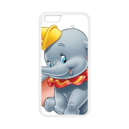 Dumbo 010 coque iPhone 6 4.7 Inch Housse Blanc téléphone portable couverture de cas coque EOKXLLNCD18186