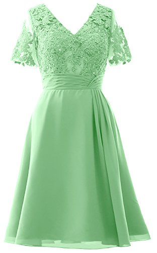 Midi Wedding Sleeves Women Of Bride Macloth Menthe Party Dress The Mother Short CwxBCqYt1