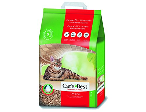Cat´s Best Bolsa para Cajas de Arena, Oko Plus, color Natural, 8.6 k (18.9 l)