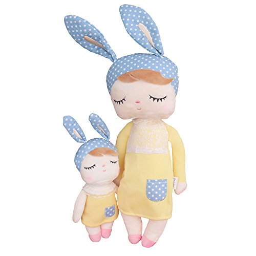 MeToo Doll Plush Toys for Baby Girl Soft Stuffed Animal Doll Bunny for Kids Toddlers