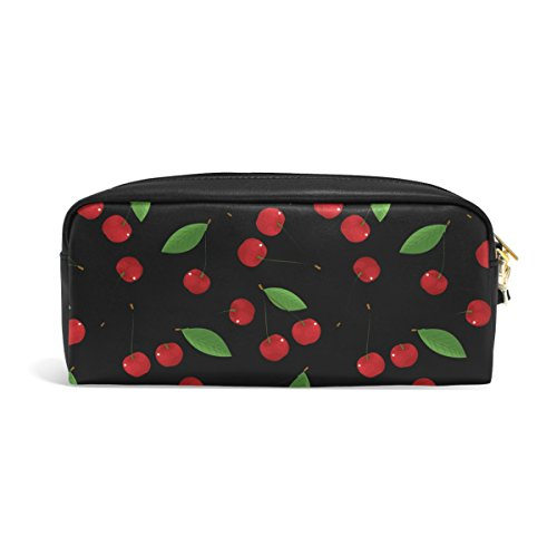 Bleistift Fall, Pen Tasche Make-up Tasche Geldbörse groß Kapazität Wasserdicht Cherry von Studenten oder Frauen