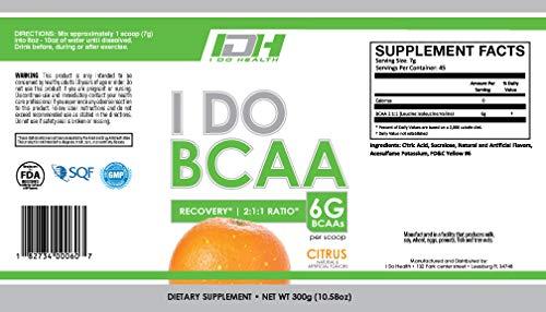 I Do Health Bcaa Citrus