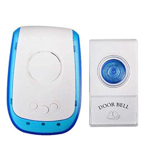 DSHBB Wireless Doorbell,38 Melodies to Choose,Waterproof Doorbell (Hi Performance Battery Door)