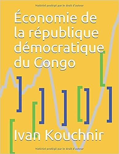 Économie de la république démocratique du Congo