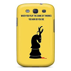 Hot Fashion Ann633hYTh Design Case Cover For Galaxy S3 Protective Case (when You Play The Game Of Thrones)