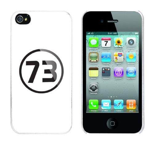 Iphone 4 Case 73 Rahmen weiss