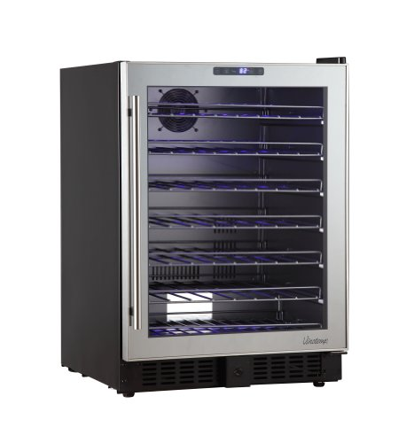 Vinotemp 54-Bottle Wine Cooler Mirror VT-54TS-SM