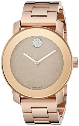 Movado 3600335 Crystal Accented Gold Tone Stainless product image