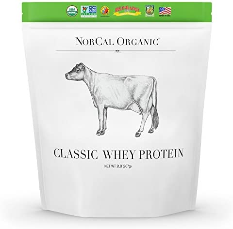 Source Classic Organic Whey Protein – 100 Grass-Fed and Grass-Finished – UNFLAVORED – Lecithin-Free – 2lb Bulk