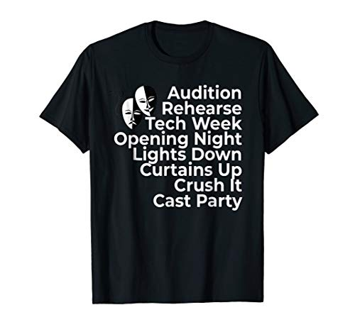 Theatre Gift Broadway Actor Shirt Musical Director Thespian