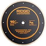 Ridgid 10' Dry/Wet Segmented Diamond Saw Blade