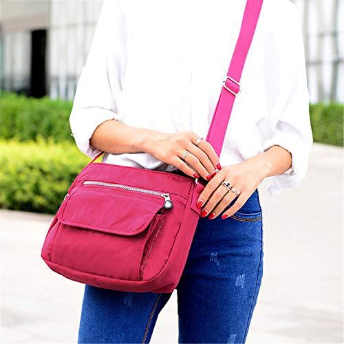 Ladies sac Messenger nylon Bags pour kaki Sunonip Messenger Bags imperméables Femmes nFxUqfCq7