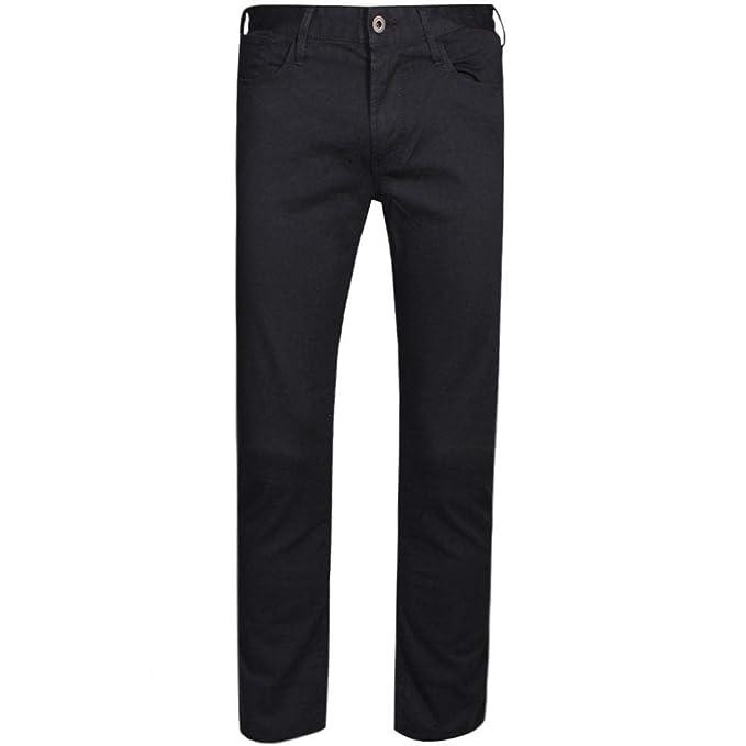 Neue Produkte heißer Verkauf online beste Seite Emporio Armani Jeans J06 Slim Classic Gaberdine 8N1J06 1N0LZ-BLACK