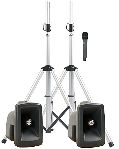Anchor Audio MegaVox Portable PA System Deluxe AIR Package with Wireless AIR Companion Speaker and One Wireless Microphone (Dp Deluxe Package Megavox Pro)
