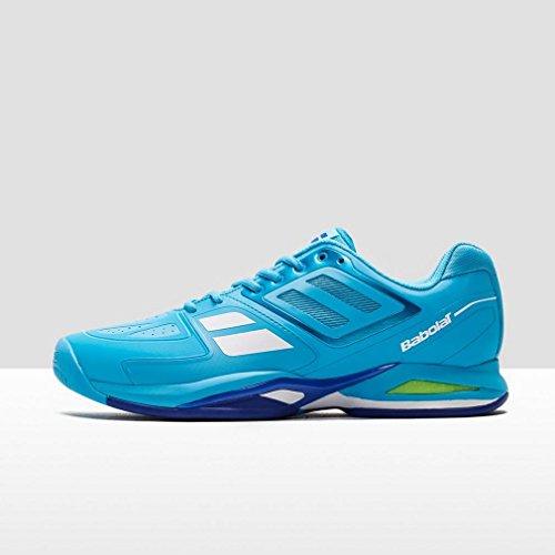 Babolat - Propulse Team AC Chaussures de tennis pour hommes (bleu/blanc) - EU 44,5 - UK 10