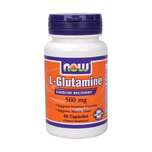 Now Foods L Glutamine 500 Caps