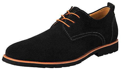 iLoveSIA Men's Oxford Leather Suede Shoes G2