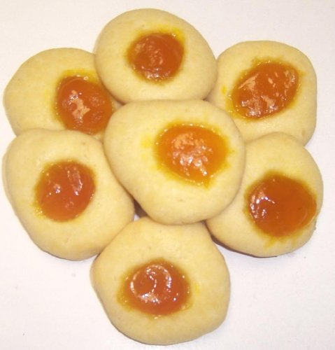 Scott's Cakes Mango Butter Cookies in a 1 Pound Plastic Deli Container (Boxed Butter Cookies)