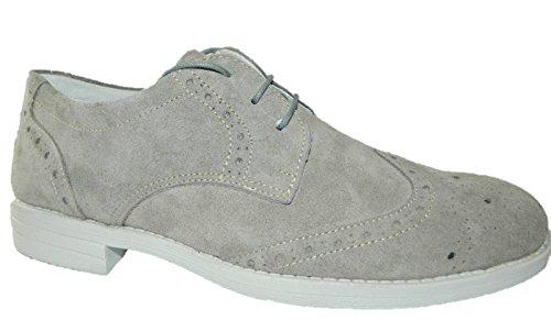 Calzaturificio LCA Italy , Chaussures de ville à lacets pour homme Gris gris