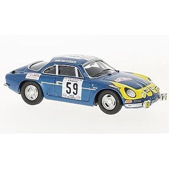 alpine Renault A110, No.59, Rallye WM, Rallye tour de Corse, 1976, Model Car, Ready-made, Trofeu 1:43