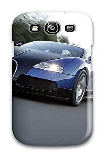 New Premium DanRobertse Bugatti Veyron Widescreen Wallpaper Skin Case Cover Excellent Fitted For Galaxy S3