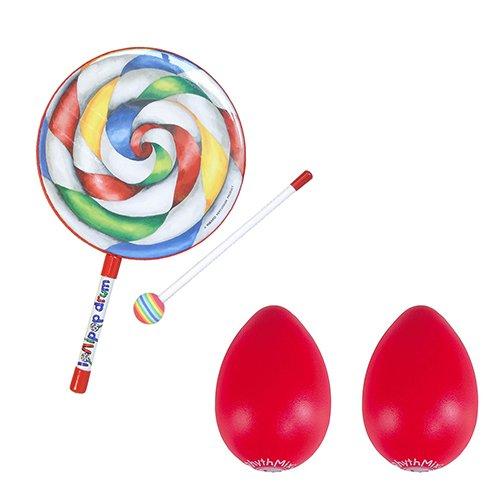 Remo Kids Lollipop Drum w/ Mallet 10