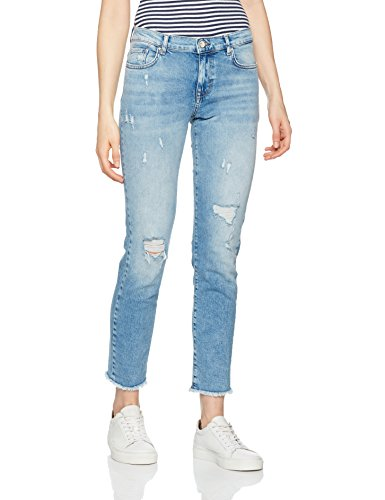 Only R Rea16544 Slim Dnm Donna Noos Denim Blue light Blu Jeans Onlsui An rwcURqrO