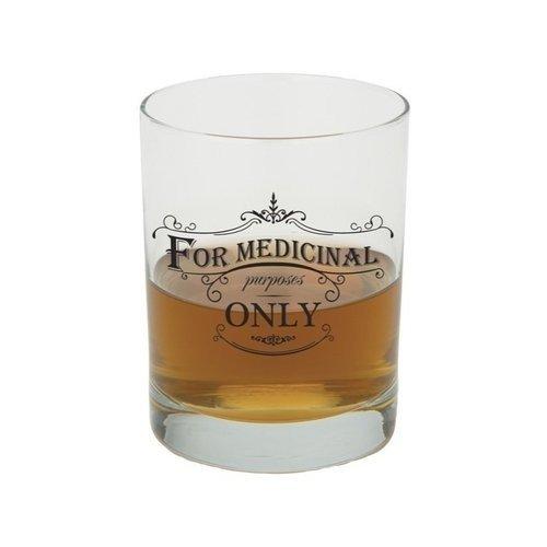 Santa Barbara Design Studio Medicinal Purposes JKC Studio Old Fashioned Glass, (Santa Barbara Studio)