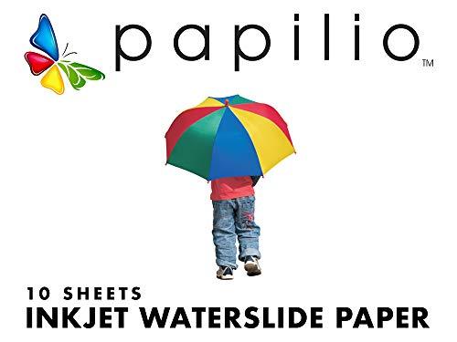 (Papilio Inkjet Waterslide Decal Paper - 10 sheets,)