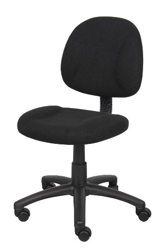 Boss fice Products B315 BK Perfect Posture Delux Fabric