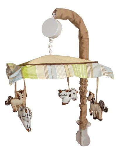 Music Mobile for On the Farm Baby Bedding Set By Sisi