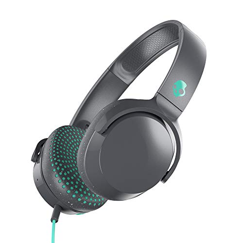 Skullcandy Riff On-Ear Headphone - Grey/Teal