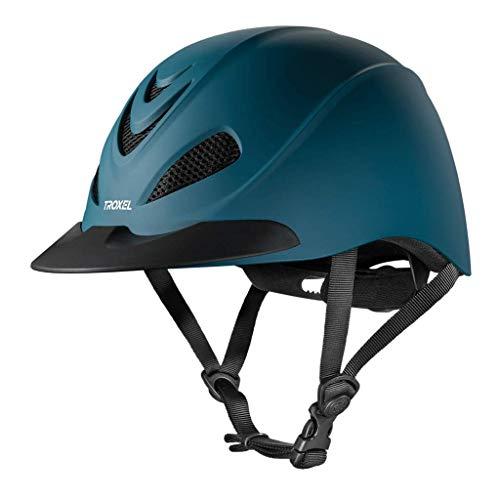 (Troxel Liberty Bluestone Duratec Horse Riding Helmet Low Profile Adjustable (Medium))