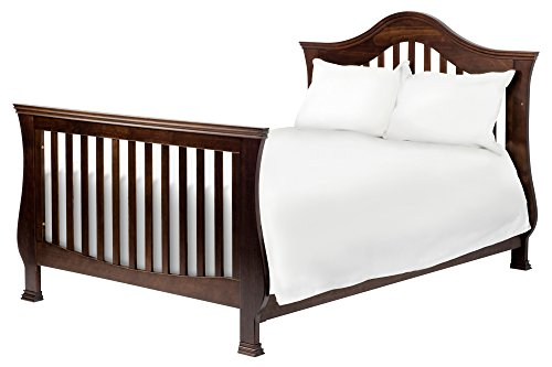 Full Size Conversion Kit Bed Rails for Million Dollar Baby Ashbury, Foothill & Louis Cribs - Espresso by Grow-with-Me Crib Conversion Kits (Image #2)