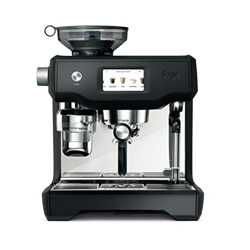 SAGE SES990 theOracle Touch, Cafetera espresso, Cappuccinatore, 15 Bar, negro