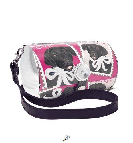PopTank Handbag - Pop Culture Made Fabulous - Black Lab - Littlearth Petite Purse