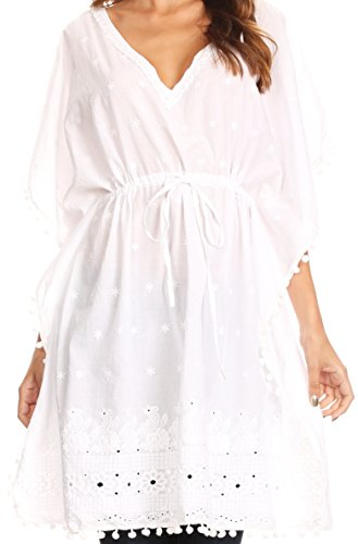 Embroidered Caftan - 6