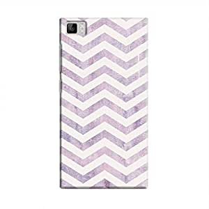 Cover It Up - Purple Bubblegum Print Mi3 Hard Case