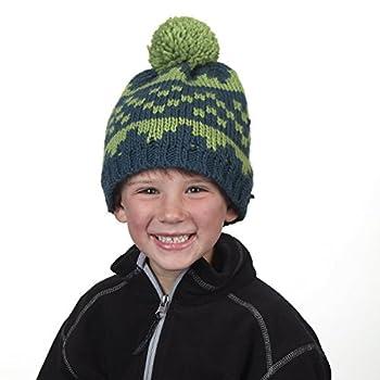Side Step Boy's Classic Pom Winter Hat