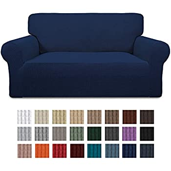 Amazon.com: Easy-Going Stretch Chair Sofa Slipcover 1-Piece ...